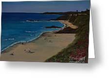 Treasure Island Laguna Beach Greeting Card