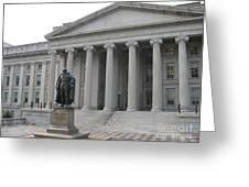 Treasury Department Washington Dc Greeting Card