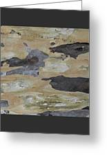 Tree Bark II Greeting Card