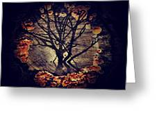 Tree Circle 2 Greeting Card by Milliande Demetriou