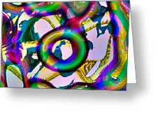 Tree-dimensional Ring Greeting Card