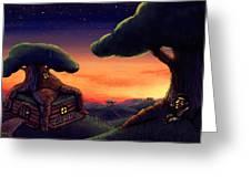 Tree Home Greeting Card