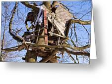 Tree Hut Greeting Card