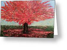 Tree In Fall Greeting Card