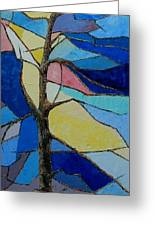 Tree Intensity - Sold Greeting Card by Judith Espinoza