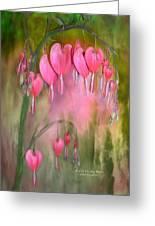 Tree Of Bleeding Hearts Greeting Card