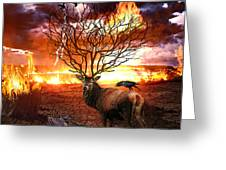 Tree Of Death Greeting Card