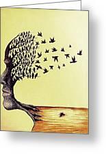 Tree Of Dreams Greeting Card by Paulo Zerbato
