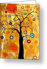 Tree Of Happiness 647 - Marucii Greeting Card