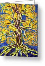 Tree Of Happiness Greeting Card