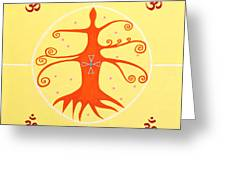 Tree Of Life - Joy Mandala Greeting Card
