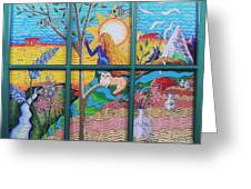 Tree Of Life Greeting Card by Judy Via-Wolff