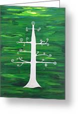 Tree Of Life - Vigor And Vitality Greeting Card