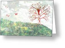 Tree Of Love Greeting Card