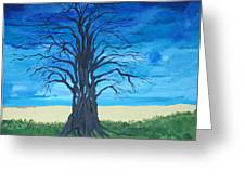 Tree Of Man Greeting Card