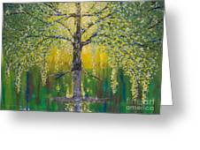Tree Of Reflection Greeting Card