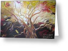 Tree Of Thought Greeting Card