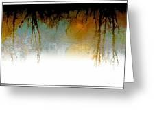 Tree Reflections IIi Greeting Card