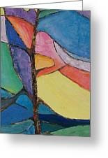 Tree Sky Symphony - Sold Greeting Card