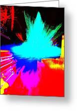 Tree Splash Greeting Card by Jeffrey J Nagy