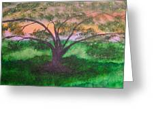 Tree Strong Greeting Card
