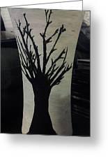 Tree Vase Greeting Card by Lee Farley
