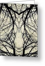 Tree Veins Greeting Card