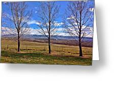 Tree View Greeting Card