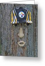 Tree With A Face Greeting Card
