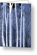Trees Vertical Greeting Card