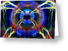 Treescape Abstract II Greeting Card
