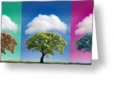 Treetypch Greeting Card