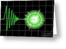 Tremor Black Greeting Card