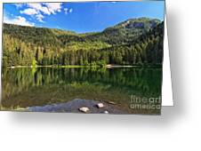 Trentino - Caprioli Lake Greeting Card