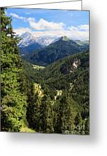 Trentino - Val Duron Greeting Card