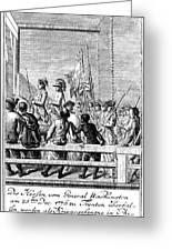 Trenton: Prisoners, 1776 Greeting Card