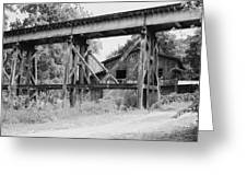 Trestle And Barn Greeting Card