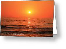 Trestles Surf Greeting Card