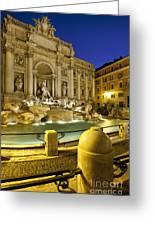 Trevi Fountain Greeting Card