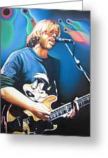 Trey Anastasio And Lights Greeting Card