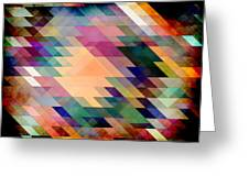 Triangles And Parallelograms Greeting Card