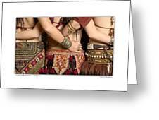 Tribal Dancers Greeting Card