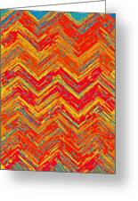 Tribal Pattern 019 Greeting Card