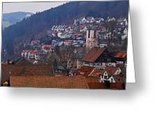 Triberg Germany Greeting Card