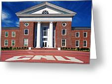 Trible Library Christopher Newport University Greeting Card