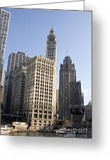 Tribune Tower Chicago Greeting Card
