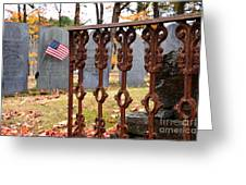 Tribute To A Soldier Greeting Card