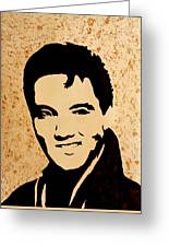 Tribute To Elvis Presley Greeting Card