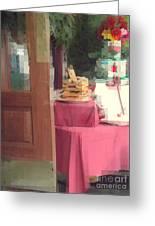 Little Italy - Rustic Door Greeting Card