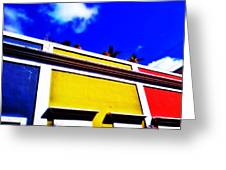 Tricolor Greeting Card